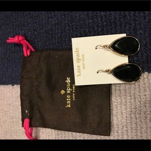 Kate Spade black earrings